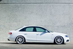 Audi S4 with P40S in Gloss White