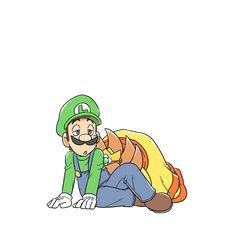 I can't get over Daisy x Luigi fanarts ! 💛💚 By i_junnosuke (Ishii Jun nosuke) 🎨🖌 Mario Y Luigi, Super Mario And Luigi, Super Mario Art, The Legend Of Zelda, Resident Evil, Mario Smash, Princesa Daisy, Luigi And Daisy, Mario Comics