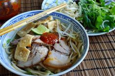 Cao Lầu - Hoi An Style Noodle with Pork and Greens