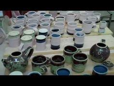 Reglazing Pots - YouTube
