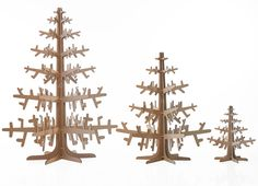 60cm, 120cm and 180cm height cardboard trees
