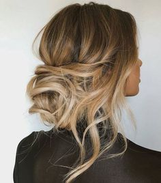 24 gorgeous messy wedding updos   TANIA MARAS Its no wonder messy wedding updos are so popular. Polished hairstyles can sometimes feel too bridal or formal but messier hairstyles feel contemporary sophisticated and infinitely stylish. Messy wedding hairstyles are by their very nature relaxed in form but this doesnt mean they lack formal elegance. These relaxed hairstyles embody bohemian luxe appeal with romantic