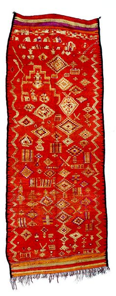 Berber (tribe) Rug. Moroccan Wool from the early 20th century. Beautiful!