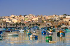 Get details on the different kinds of Marsaxlokk villas in Malta as well as good budget hotels in this traditional old fishing village. Oh The Places You'll Go, Places To Travel, Places Ive Been, Devon Uk, Fishing Villages, Beautiful Places, Beautiful Scenery, Cruise, To Go