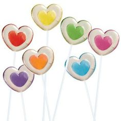 Heart Lollies