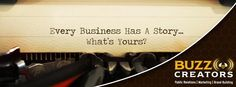 We know how to tell a good story, let us help tell yours!