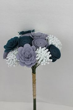 20% Off Promotion Handmade Wedding Bouquet  Wedding by LeeSFelt