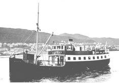 Alfen var en av rutebåtene mellom Bergen og Askøy. Den var opprinnelig en dampbåt, men ble siden ombygd til mer moderne drift. Den tilhørte Rutelaget Askøy-Bergen. Undertegnede har mange hyggelige minner fra denne båten, da vi  1956-58 ferierte i hytte på Kleppestø en tid da Askøy virkelig var på landet,-  bare grusveier,  omtrent ingen privatbiler. Så vidt jeg vet finnes Alfen fortsatt i Oslo under annet navn. Den burde vi sannelig fått tilbake til Bergen! Bergens sporveis historie.