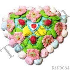 Tarta De Chuches Corazón Corazón