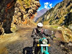 The climb to Sach pass is incredible it's steep and has all sorts of challenging road conditions all the way up to the top. Road Conditions, Royal Enfield, Bradley Mountain, Climbing, The Incredibles, Adventure, Mountaineering, Adventure Movies, Adventure Books