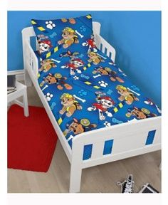 Paw Patrol Junior Duvet Cover and Pillowcase Set