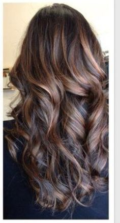 Lovely hair with highlights