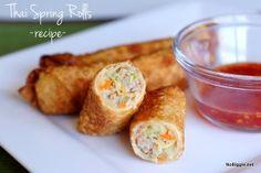 Thai Spring Rolls | 25+ gluten free and dairy free lunch ideas