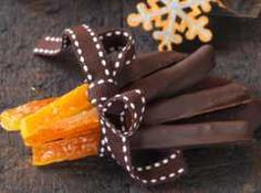Mes orangettes au gingembre maison Candied Fruit, Flan, Christmas Time, Biscuits, Party, Food And Drink, Favorite Recipes, Yummy Food, Sweets