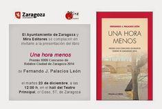 opinión-debate: Presentaciones Mira Editores en Zaragoza