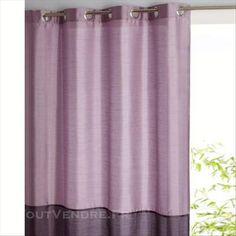 rideau bicolore 100 occultant gris rideaux pinterest ne laissez pas gris et vente en ligne. Black Bedroom Furniture Sets. Home Design Ideas