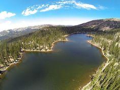 Cuberant Lake in Utah's Uinta Mountains