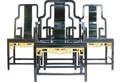 Chinese-Style Chairs, Set of 4 on OneKingsLane.com