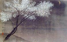 Hayami Gyoshu  Spring Evening, 1934 