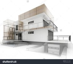 Cool Architecture Drawing beautiful modern residence3d power visualisation | cool