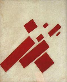 Kazimir Malevich -color/form/composition/shape/scale
