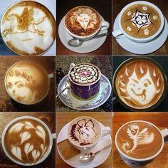 Kaffe kunst