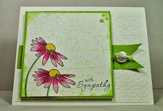 Sympathy card - Blessed Beyond Measure