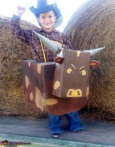 Bucking Bull - Halloween Costume Contest via @costume_works