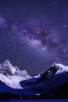 Himalayas .. Wow, I never thought about what the sky would look like!