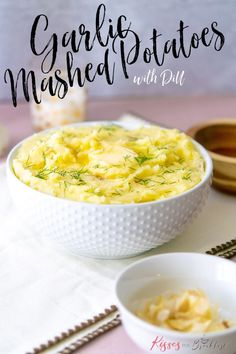 Adding garlic to your mashed potatoes is a great way to add flavor. #garlicmash #roastedgarlic #dill #sidedish #mashpotatoe #garlicmashpotatoe Whipped Potatoes, Garlic Mashed Potatoes, Veggie Recipes, Cooking Recipes, Peeling Potatoes, Recipe Community, Food Heaven, Roasted Garlic, Recipes