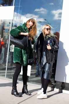 Street Style from New York Fashion Week Fall 2016 | pinterest: @nickibryson