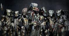 This is the best way to emphasize the Elder predator, the Boss? Aliens, Fantasy Movies, Sci Fi Fantasy, Predator Cosplay, Sience Fiction, Giger Alien, Jurassic World Dinosaurs, Sci Fi Comics, Alien Vs Predator