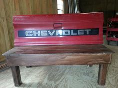 Tailgate Bench from a Chevy S-10 $200.00