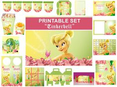 INSTANT DOWNLOAD  Tinkerbell  Birthday Party by SabrinasPrintable, $7.99