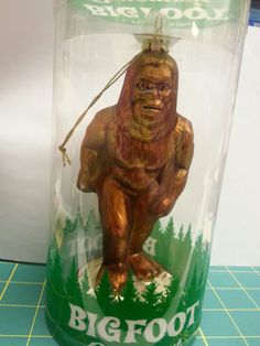Big Foot Glass Ornament - Hanging Glass BigFoot Ornament - NIP - if you click on the View Page button, it will take you to our eBay store listing for this ornament.  When you click on the following link, it will take you to our Way Up In Alaska Novelties and Fun Stuff page:  http://www.wayupinalaska.com/Novelties---Fun-Stuff.html