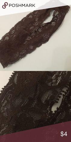Elastic headband Black lace elastic headband Accessories Hair Accessories