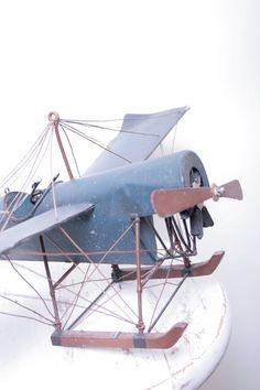 A Kid's Toy Airplane perfect for a Children's Room