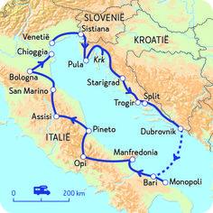 Camperreis door Italië en Kroatië | NKC