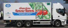 Anni '80. La distribuzione dei prodotti Nonno Nanni si fa capillare in tutto il territorio nazionale.