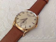 Harswatch Vintage Oro 18kt Anse a Ragno Spider Lugs