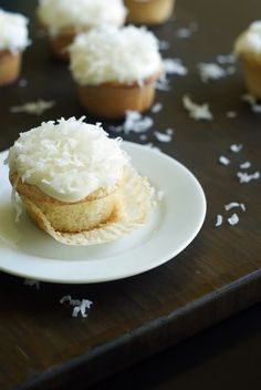 lime filled coconut cupcakes