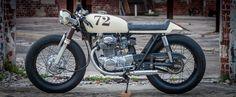 Honda CB350 Cafe Racer by Dundin #motorcycles #caferacer #motos | caferacerpasion.com