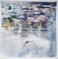 Joanne Reen: Water Garden Study I: fine art   StateoftheART Canvas Fabric, Oil On Canvas, South African Artists, Water Garden, Original Artwork, Study, Fine Art, Gallery, Painting