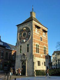 LIER Zimmertoren astronomic clockwork