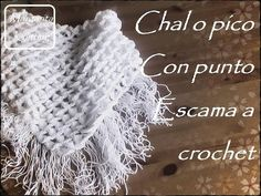 Crochet Crocodile  Shawl - Video Tutorial ❥ 4U hilariafina  http://www.pinterest.com/hilariafina/