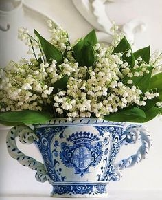 Lilly of the Valley arrangement
