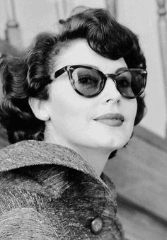 Ava Gardner, 1954.