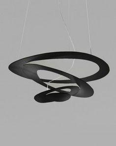 Lampa wisząca - Artemide - Pirce micro czarna