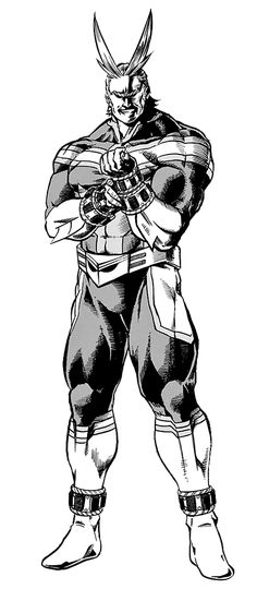 "ak47melee: "" ""All Might, in BNHA Chapter 61. "" """