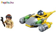 Give any LEGO® Star Wars™ fan a mini treat with a Naboo Starfighter Microfighter! Young Anakin Skywalker, Lego Batmobile, Free Lego, Lego Builder, Lego System, Lego Store, Lego Group, Lego Creator, Darth Maul